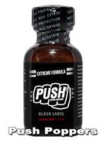 Poppers PUSH BLACK LABEL - duży
