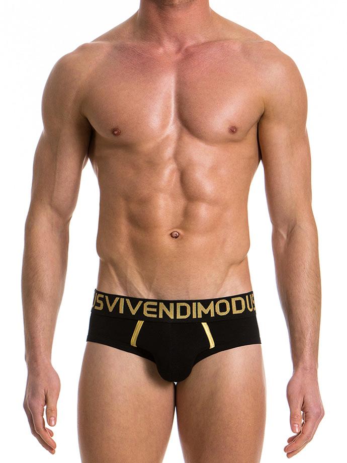 Modus Vivendi Slipy - ręcznie szyte - czarne