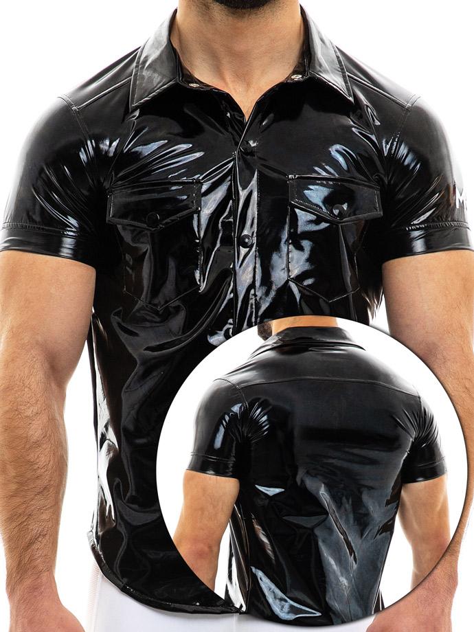 Modus Vivendi - Viral Vinyl Shirt - Black