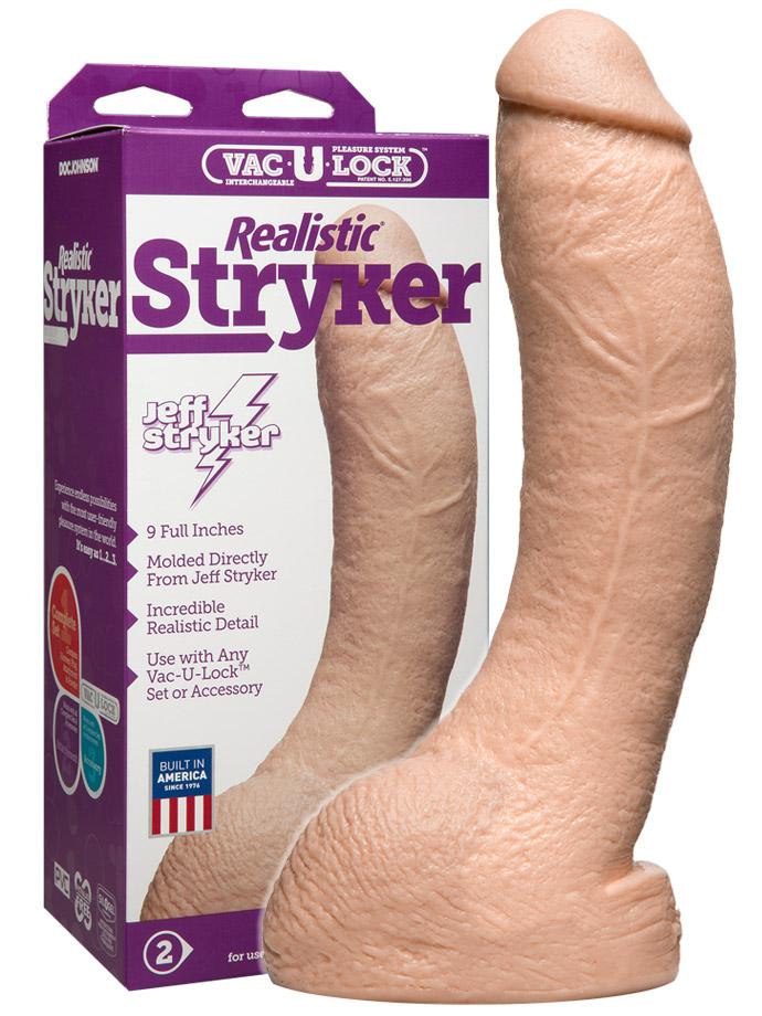 Dildo realistyczne Vac-U-Lock - Jeff Stryker