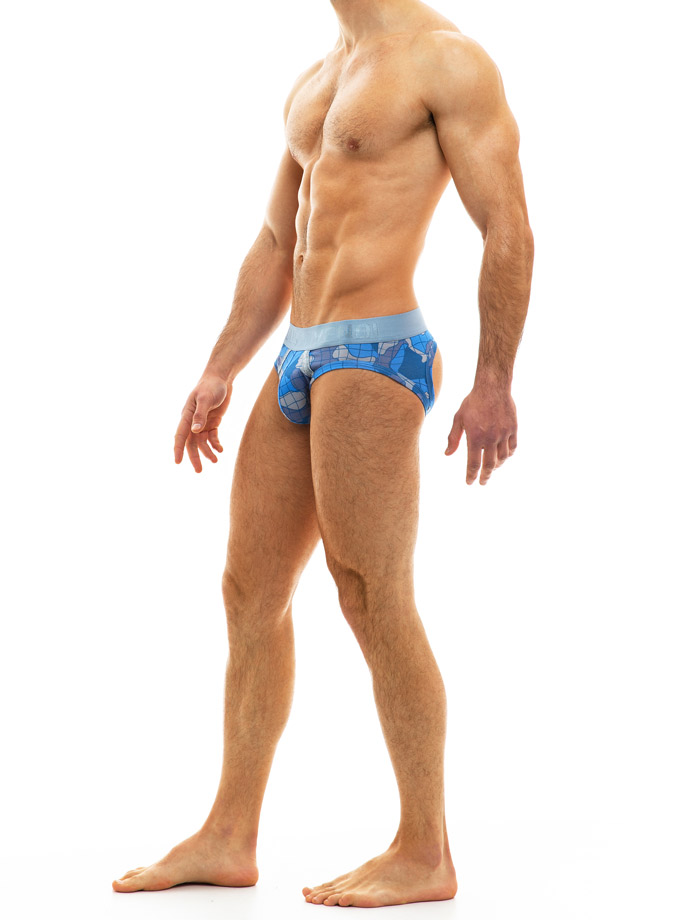 Modus Vivendi - Trapped Camo Bottomless - Blue