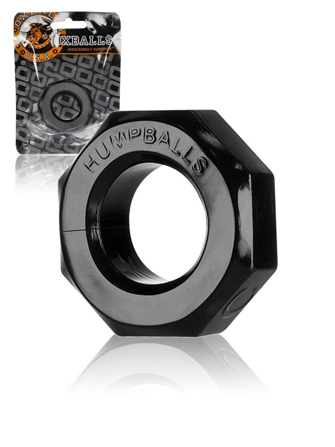 Pierścień erekcyjny Oxballs Humpballs - czarny
