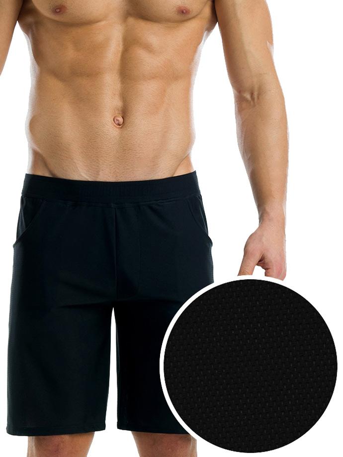 Modus Vivendi - Active Sweatshorts - czarne