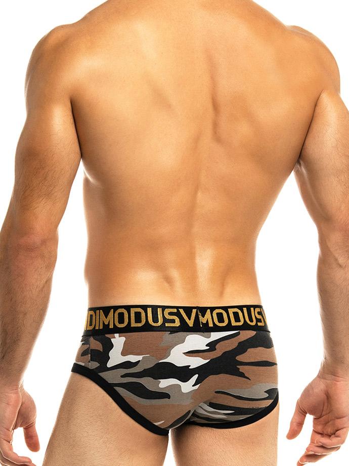 Modus Vivendi - Capsule Camo Classic Brief - Brown