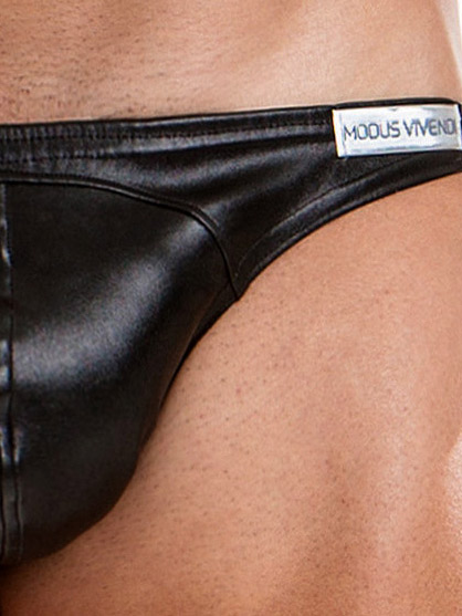 Slipy Modus Vivendi - Leather - czarne