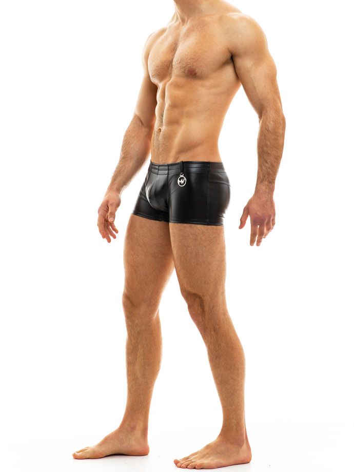 Modus Vivendi - Leather Boxer - Black