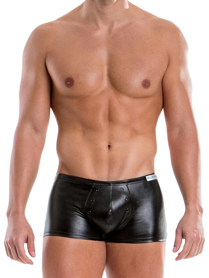 Skórzane bokserki Modus Vivendi - czarne