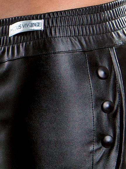 Szorty Modus Vivendi - Leather Look