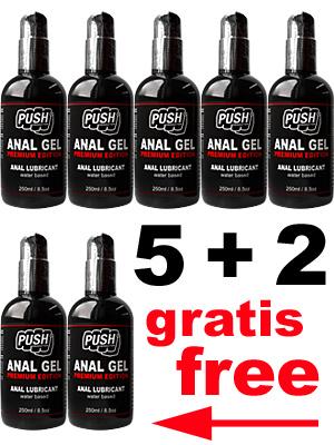 Żel analny PUSH Premium Edition 5+2 250 ml