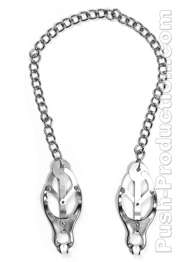 Chain Nipple Clover Clamps
