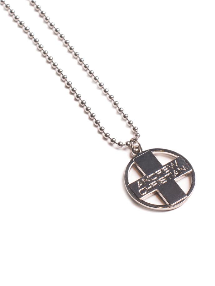 Naszyjnik Andrew Christian - Krzyż srebrny