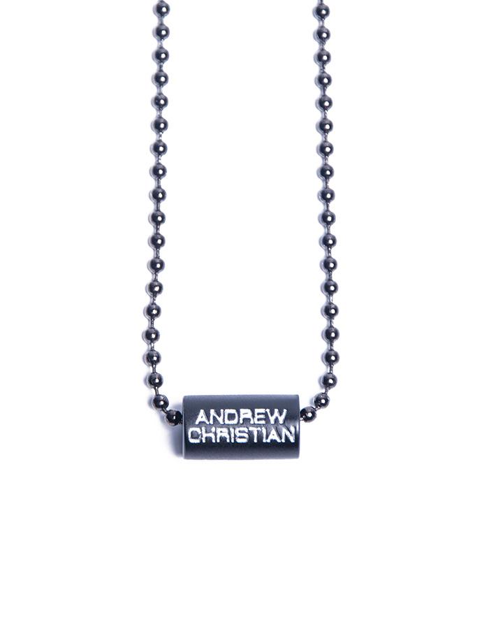 Wisiorek Andrew Christian - Baryłka czarna