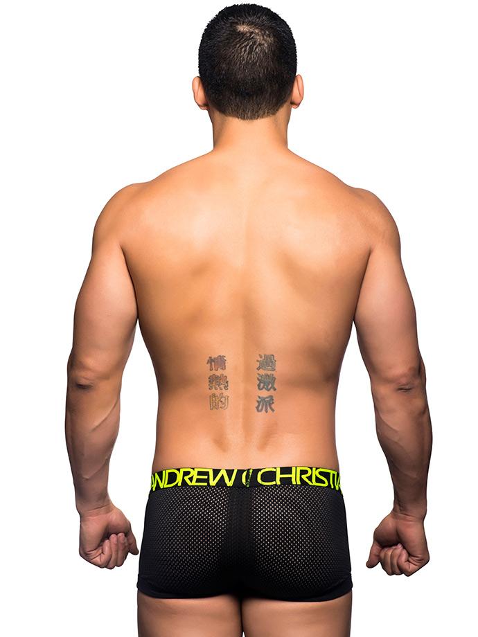 Bokserk Andrew Christian - Reaction with Almost Naked - czarne