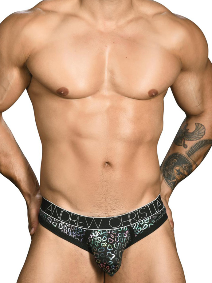 Andrew Christian - Disco Animal Thong Almost Naked