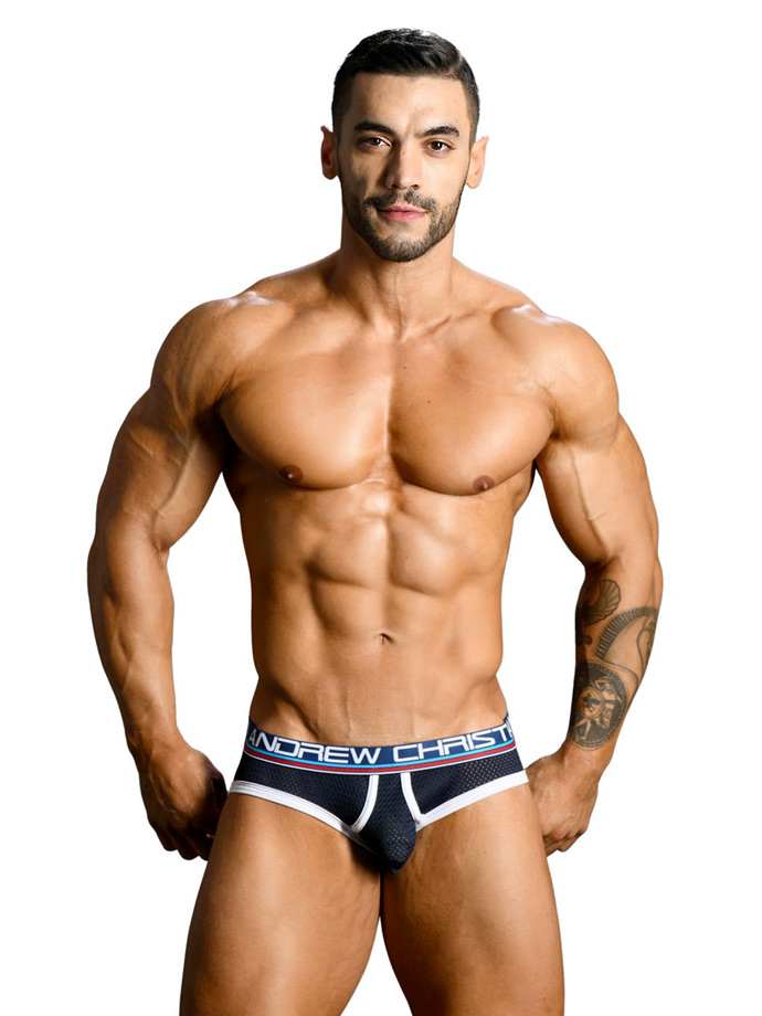 Andrew Christian - Almost Naked Retro Mesh Brief