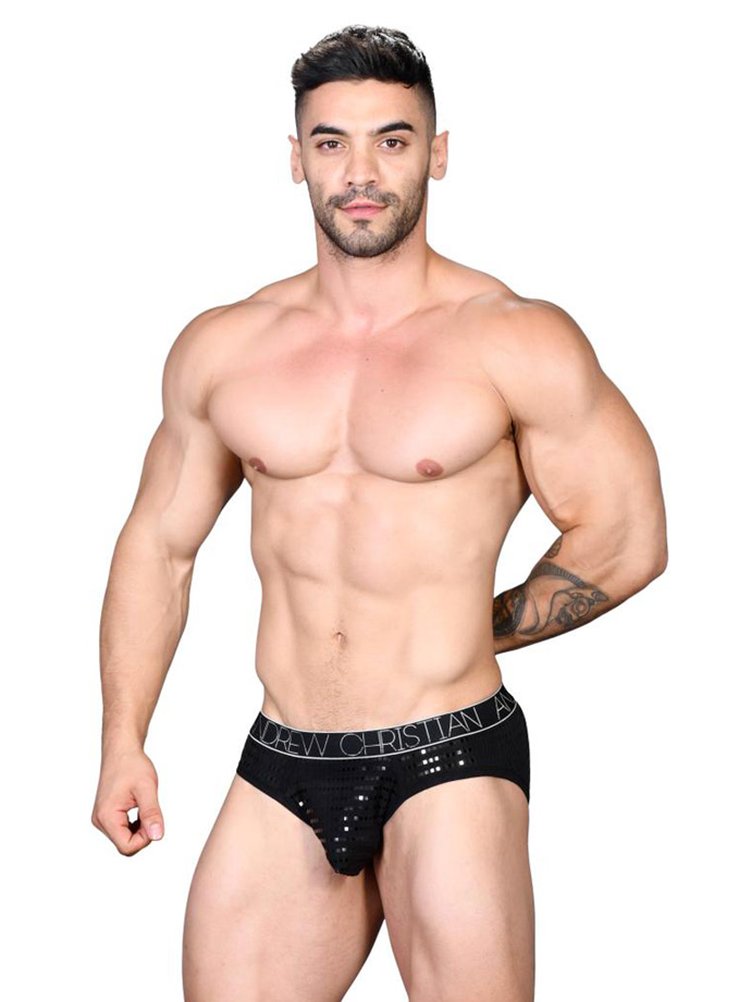 Andrew Christian - Almost Naked Dazzle Brief - Black
