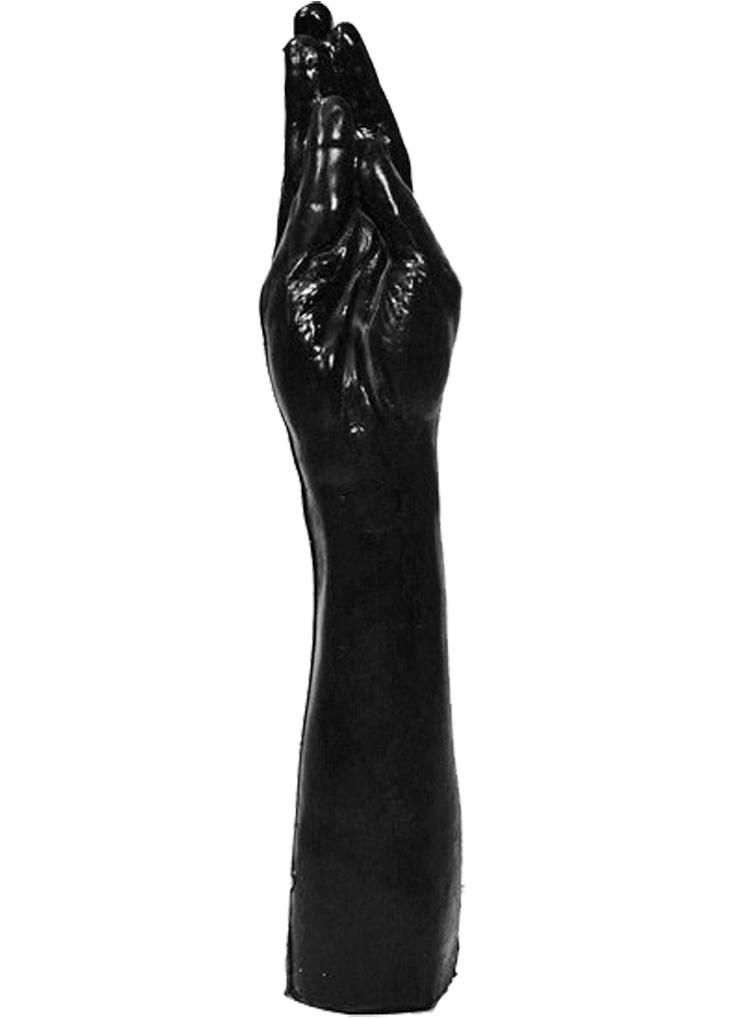 Dildo analne All Black Hand 21