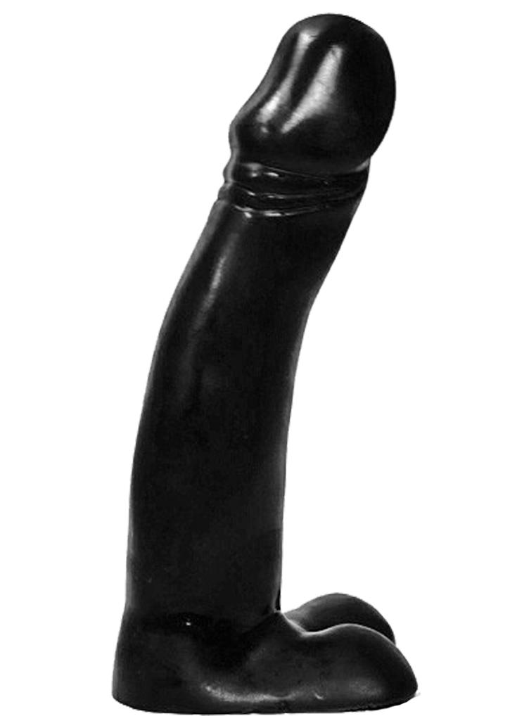 Czarne dildo All Black 23