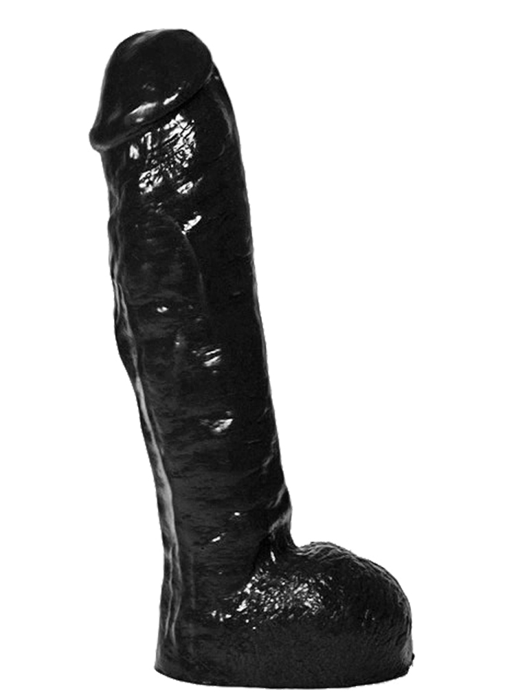 Czarne dildo All Black 34
