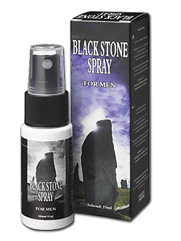 Spray przedłużający stosunek - Black Stone