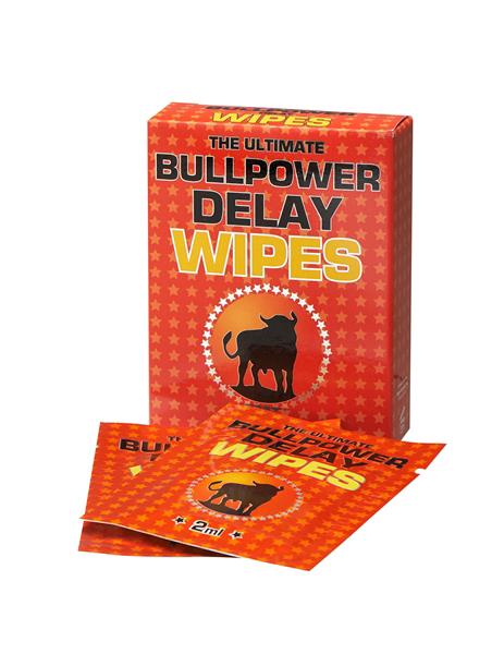 Bull Power - chusteczki opóźniające wytrysk