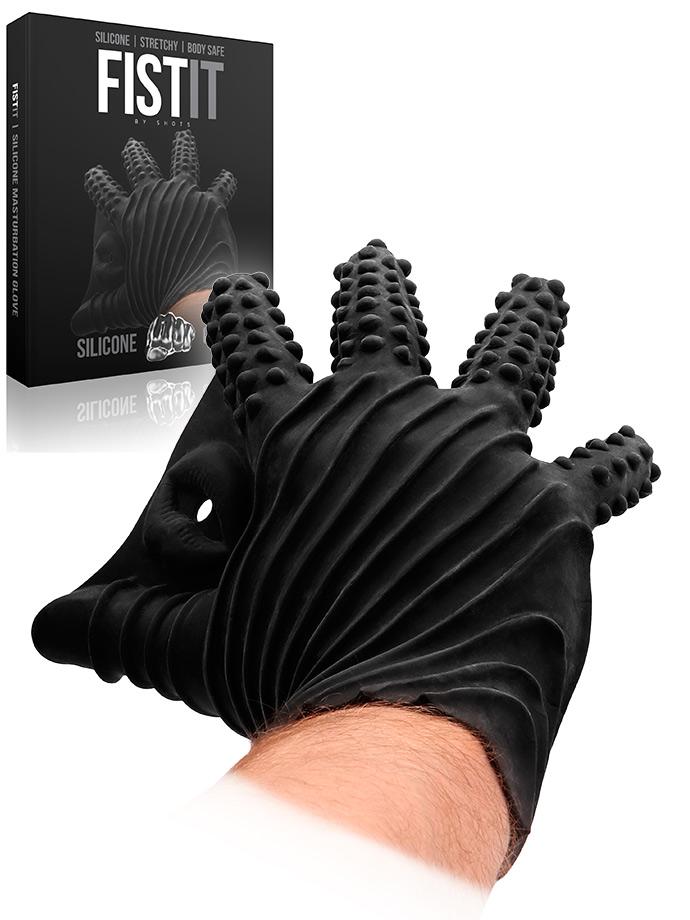 Rękawica do stymulacji analnej FistIt - czarna