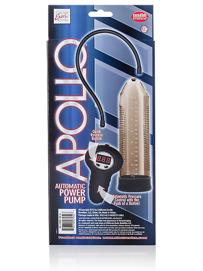 Automatyczna pompka do penisa Apollo - Smoke