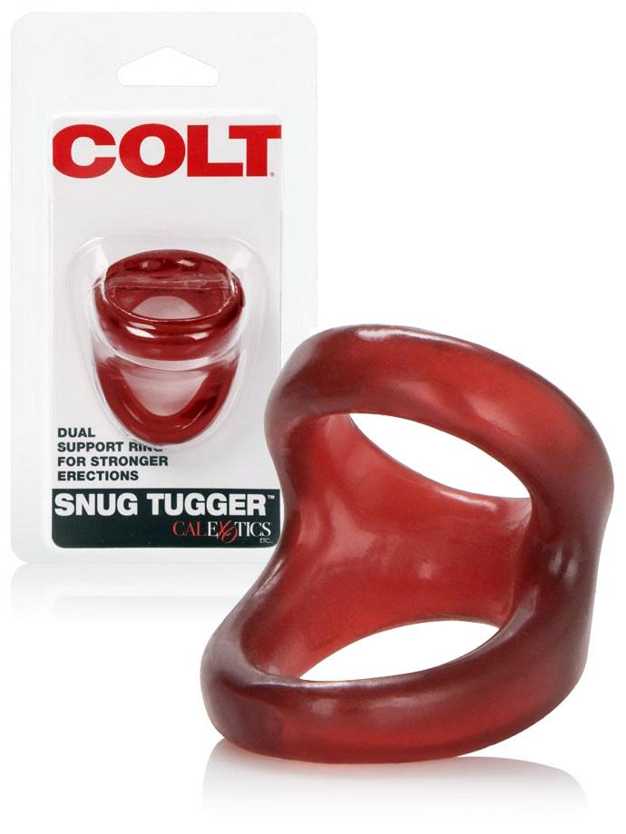 Pierścień COLT Snug Tugger czerwony