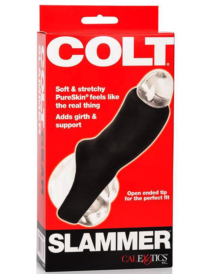 Nakładka na penisa COLT Slammer - czarna
