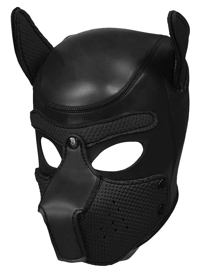Pupplay Dog Mask - Black