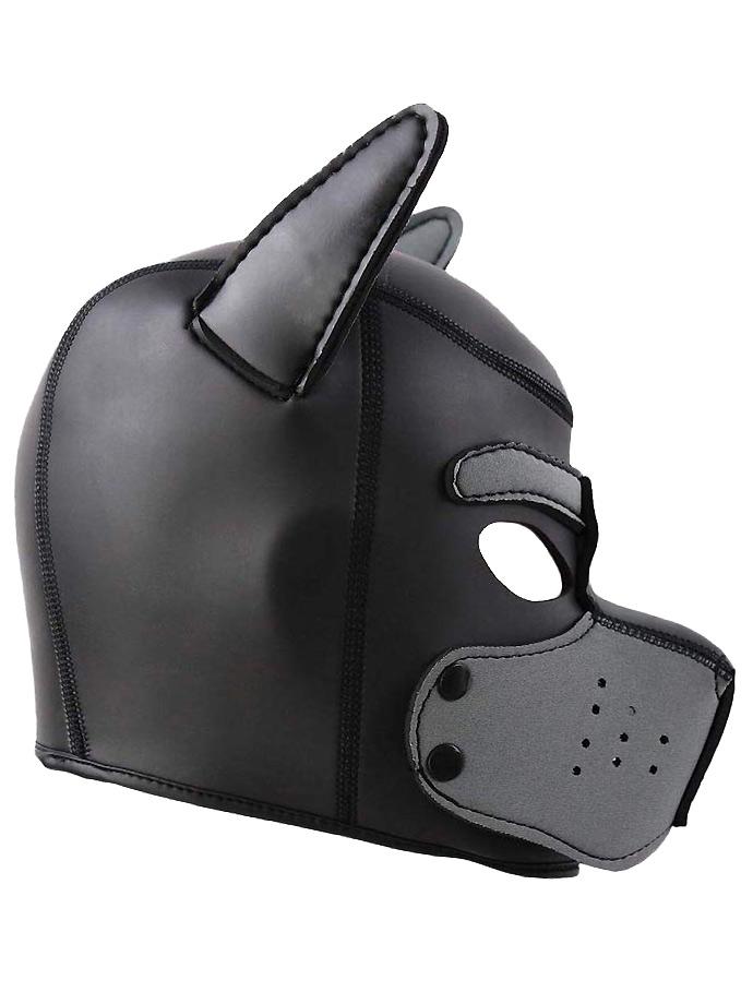 Pupplay Dog Mask - Black/Grey