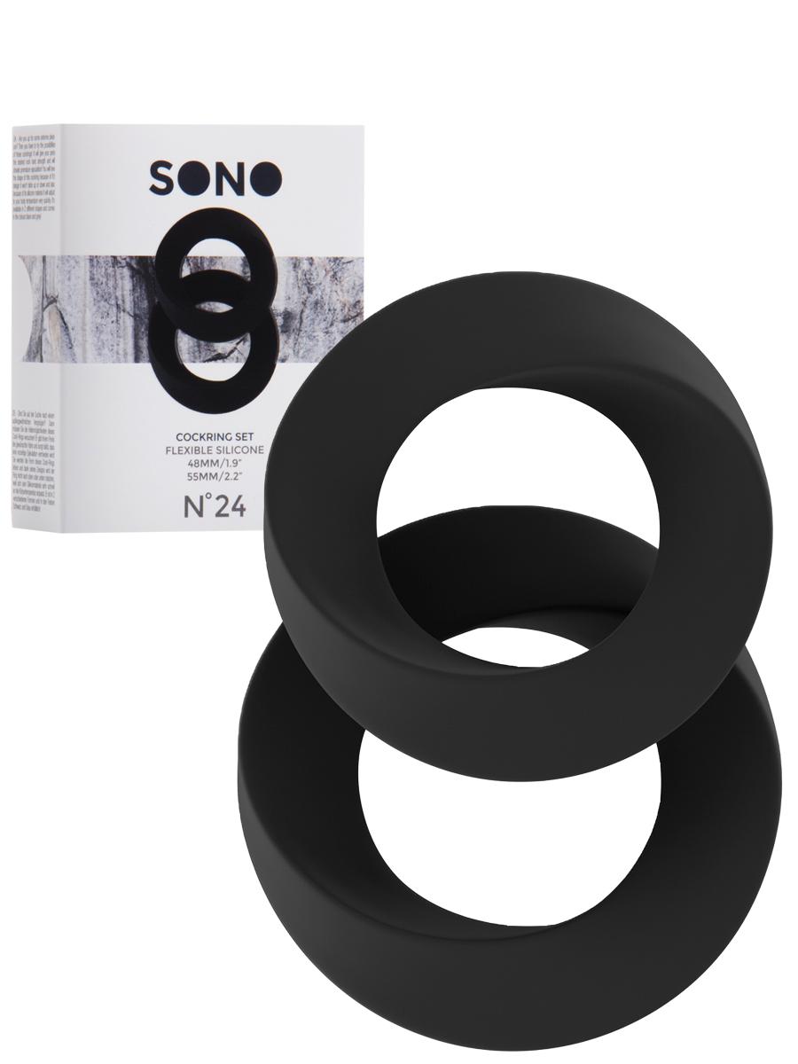 Pierścienie erekcyjne SONO No.24