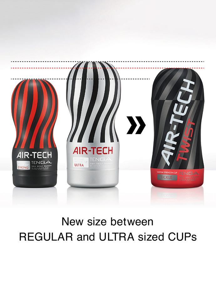Masturbator próżniowy Tenga - Air-Tech Twist - Tickle