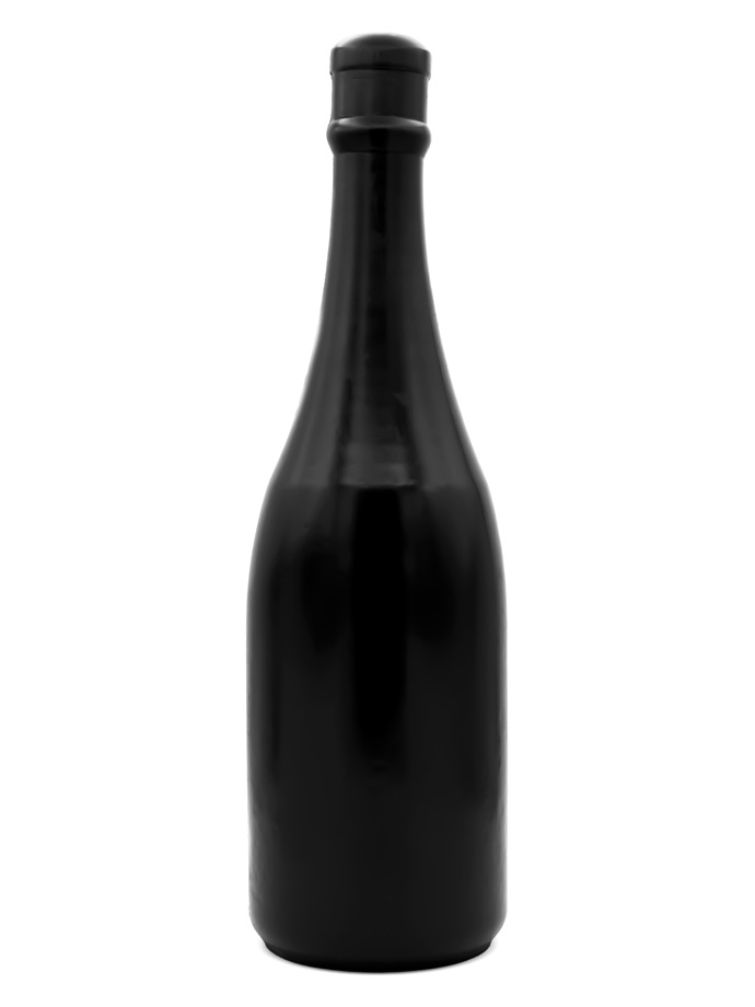 Korek analny All Black Dildo 91 - Butelka szampana Magnum