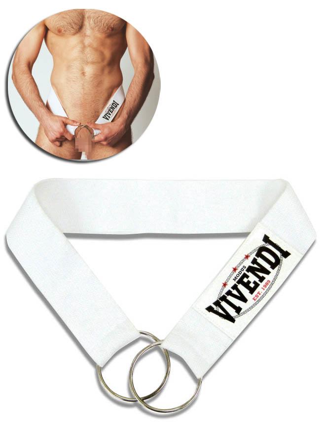 Modus Vivendi - biały pierścień erekcyjny