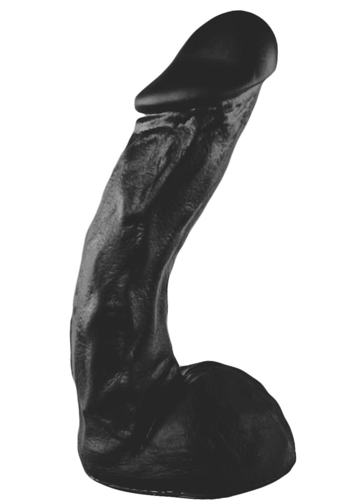 Czarne dildo All Black 66