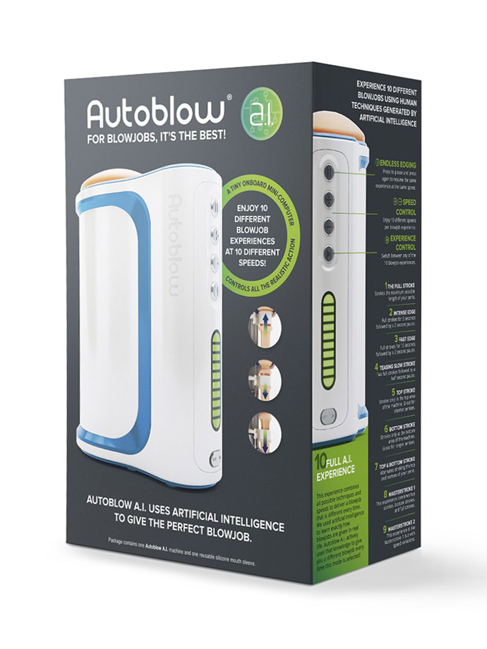 Autoblow - A.I. Machine Blowjob Masturbator