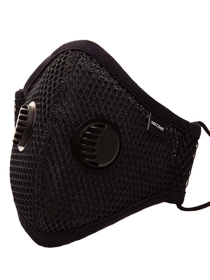 Barcode Berlin - Face Mask with Filter and Air Valve