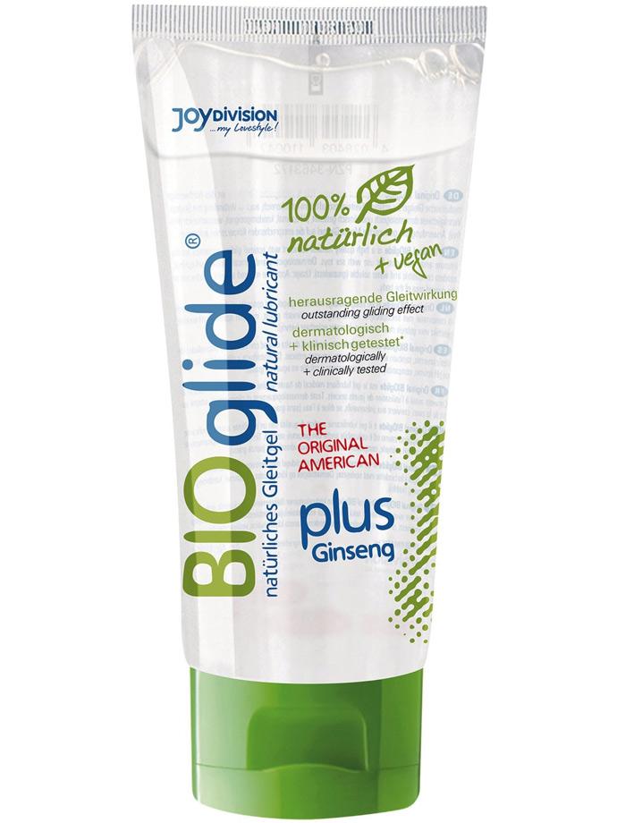 BIOglide plus Ginseng 100% nat. and vegan Lubricant 100ml