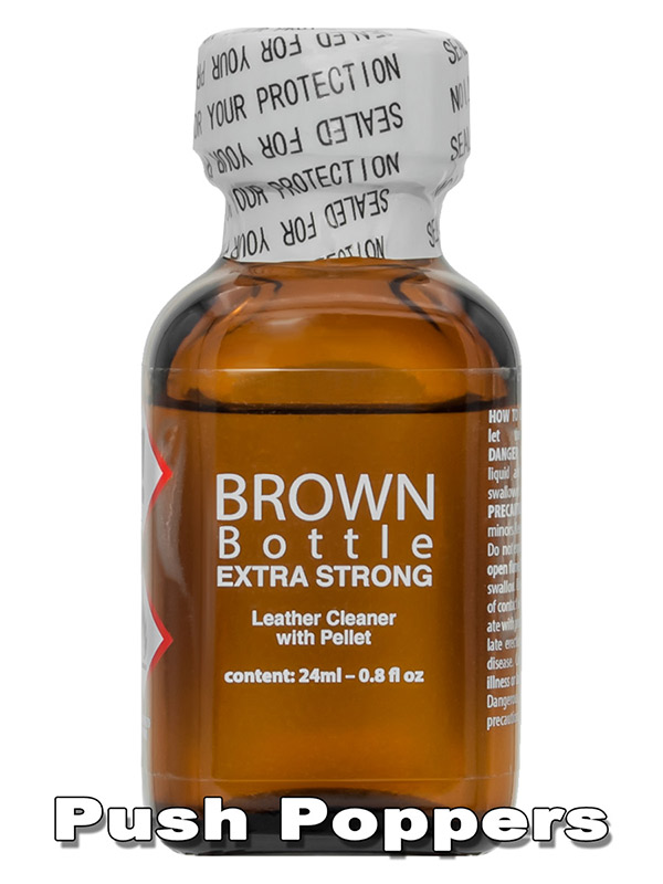 Poppers ORIGINAL BROWN BOTTLE EXTRA STRONG big