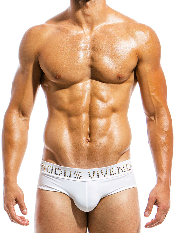 Modus Vivendi Slipy - Brand - białe