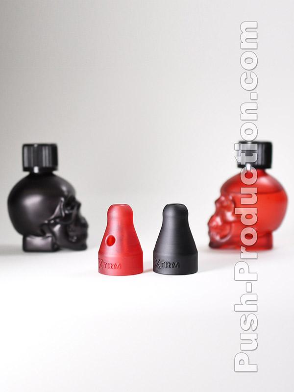Poppers Booster Cap Black Skull