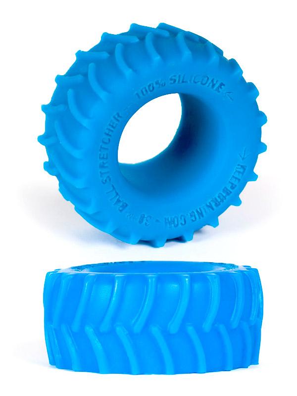 Pierścień na penisa Burning Wheels - CK02 niebieski