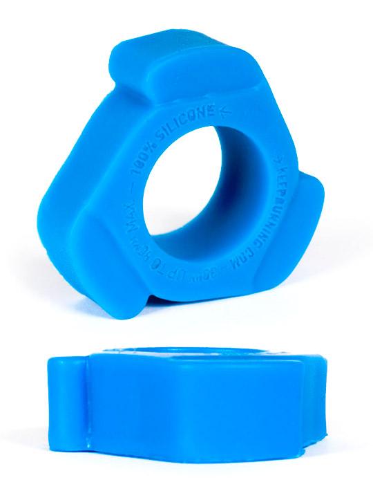 Pierścień na penisa Burning Wheels - CK10 niebieski