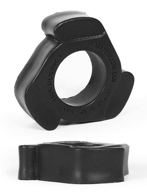 Pierścień na penisa Burning Wheels - CK11 czarny