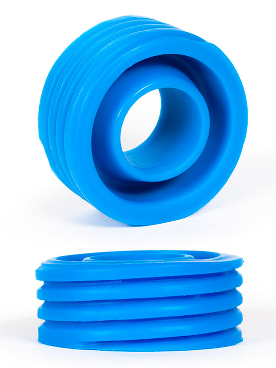 Pierścień na penisa Burning Wheels - CK12 niebieski