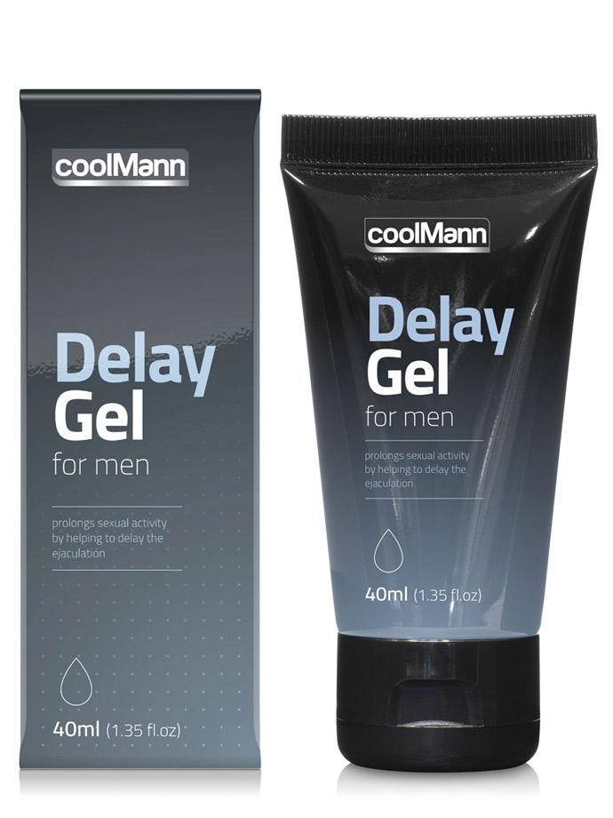 Lubrykant CoolMann Delay Gel - 40 ml