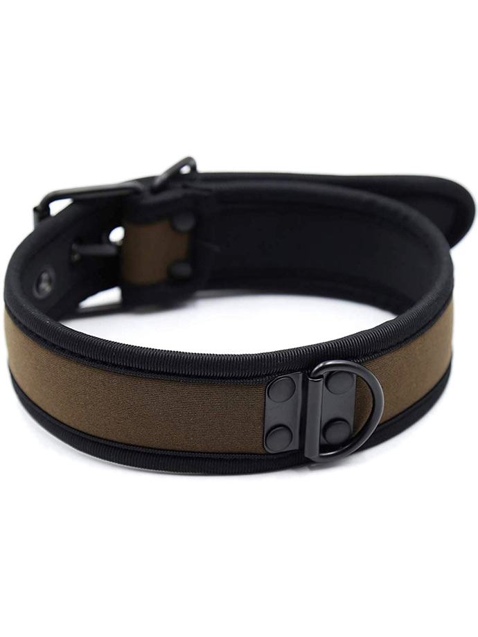 Pupplay Neoprene Collar - Coffee