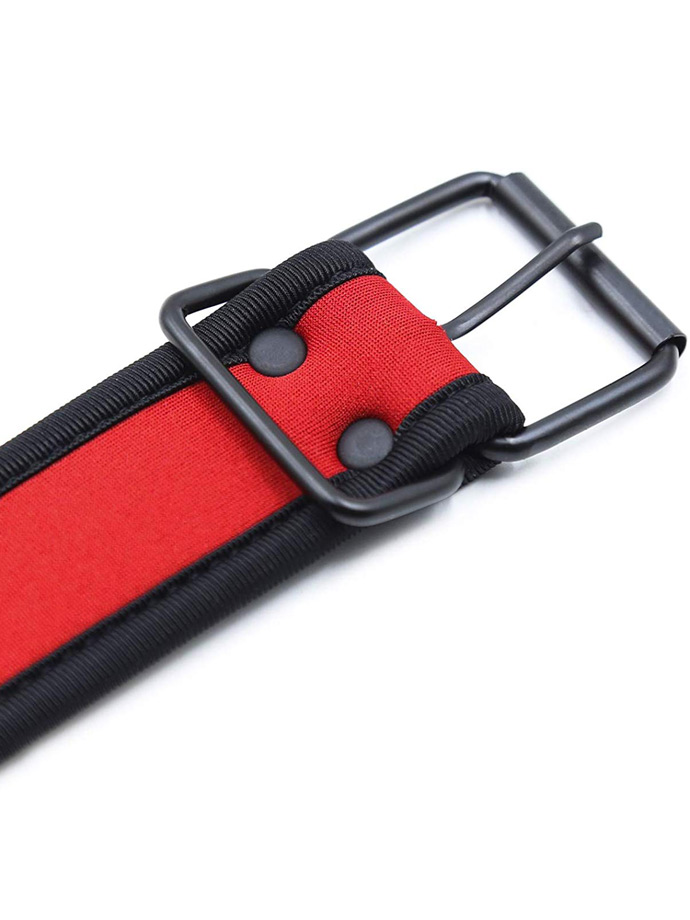 Pupplay Neoprene Collar - Red