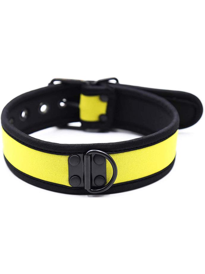 Pupplay Neoprene Collar - Yellow